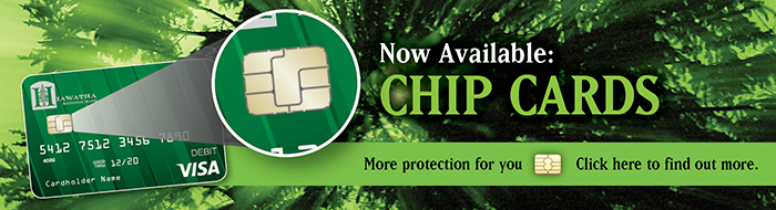 Now Available Chip cards
